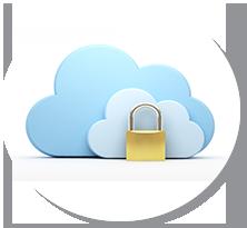 ID・パスワードによるセキュアな認証機構・暗号化通信